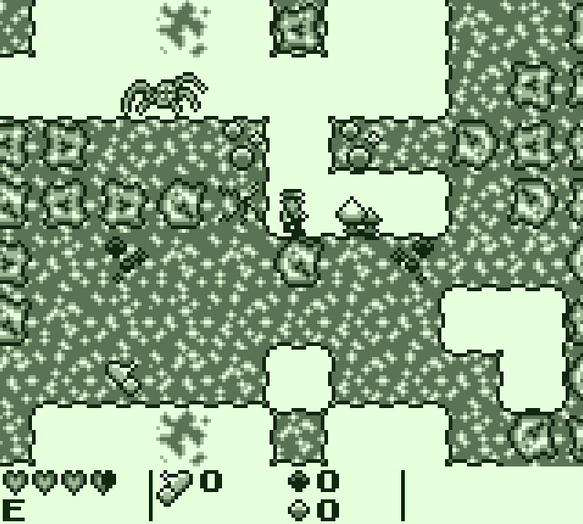 A game with graphics of a Game Boy game.